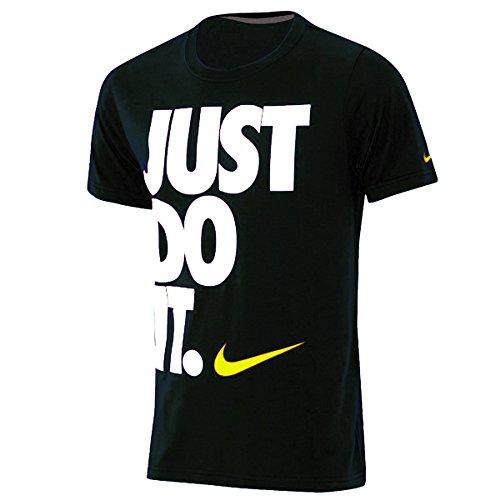 Nike Uomo Just Do It T-shirt Nera - Nero, S