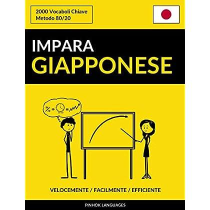 Impara Il Giapponese - Velocemente / Facilmente / Efficiente: 2000 Vocaboli Chiave