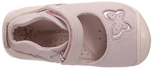 Biomecanics 162130, Mocassins bébé fille Rose - Pink (ROSA)