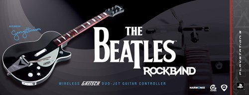 The Beatles: Rock Band PS3 Wireless Gretsch Duo-Jet Guitar Controller by MTV Games