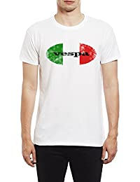 Vespa Scooter Clothing Men's Fashion Quality Heavyweight T-Shirt.