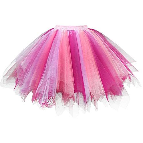 Damen Petticoat 50er Rockabilly Jahre Retro Tutu