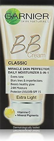 Garnier SkinActive BB Cream Classic SPF 15 with Mineral Pigments & Vitamin C - Extra Light shade, 5