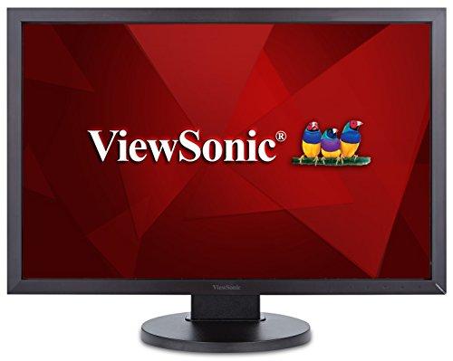 ViewSonic VG2438Sm 24-inch 16:10 LED Monitor (1920x1200 VGA DVI Display Port USB Speakers) - Black