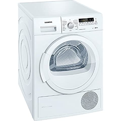 Siemens iQ 700 selfCleaning - Secadora (Independiente, Frente, Condensación, 8 kg, A, Lingerie, Mezclar, Camisa/blusa, Towel, Lana) Color