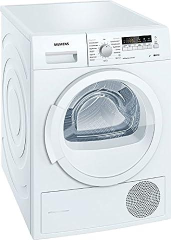 Siemens iQ700 WT46W261 iSensoric Wärmepumpentrockner / A++ / 8 kg / Weiß / Selbstreinigender Kondensator / softDry-Trommelsystem /