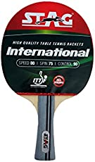 Stag International Table Tennis Racquet Without case