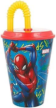 Stor 37930 Bicchiere Canna Easy 430 ml | Spiderman Graffiti