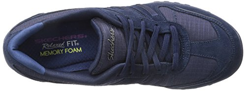 Skechers Breathe Easy Jackpot, Sneakers Basses femme Navy