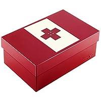 Wandler by Infinity Boxes Boxen-Set 3-TLG, Magnet Kreuz + Metallbox, klein, rechteckig, rot preisvergleich bei billige-tabletten.eu