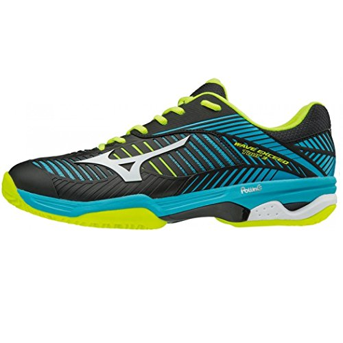 Mizuno Wave Exceed Tour CC, Scarpe da Tennis Uomo, Multicolore (Blueatoll/White/Black), 43 EU