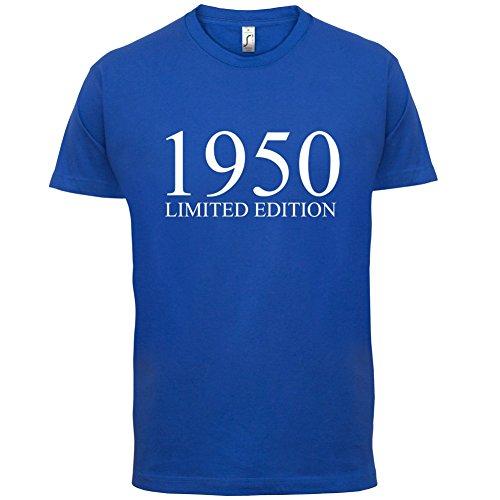1950 Limierte Auflage / Limited Edition - 67. Geburtstag - Herren T-Shirt - 13 Farben Royalblau