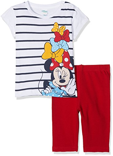 Disney 45276n/az, completino bimba, (white/bianco), 92 (taglia produttore:24)