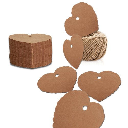 g2plus-kraft-gift-tags-100-pcs-blank-label-55-cm-6-cm-paper-wedding-labels-brown-hang-tag-with-30-me