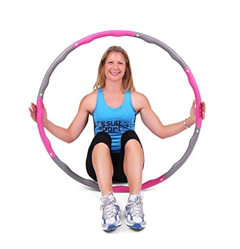 ResultSport Wave - Aro hula hoop distintos pesos ejercicios