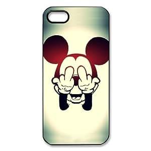 Coque iPhone 5S,Mickey Minnie Mouse Donald Duck Coque iPhone 5 5S,iPhone 5S case,iPhone 5 5S cover,Coque/Housse/Etui/Pochette/Protection étanche/ imperméable Pour Apple iPhone 5 5S