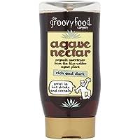 La maravillosa comida orgánica miel de agave rico y oscuro 250ml