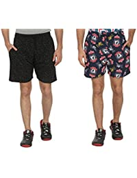 Bfly Combo Of Printed Men's Cotton Shorts