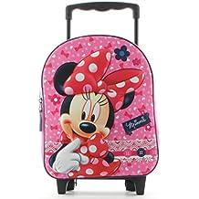 a633ceb782 Minnie Mouse Zaino Zainetto Trolley Asilo Scuola per Bambini