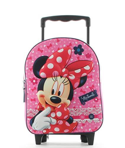Minnie mouse zaino zainetto trolley asilo scuola per bambini