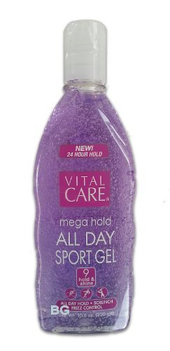 Mega Hold Spiking Gel Vital Care Mega Hold Spiking Hair Gel Super Hold All Day Non Sticky ...mtc by Vital Care