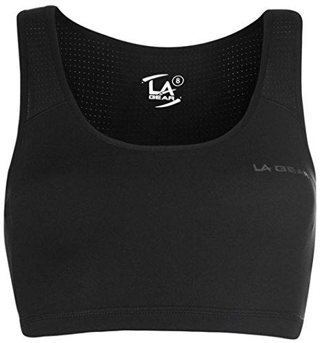 L.A. Gear - Soutien-gorge - Femme Multicolore Bigarré Multicolore - Noir