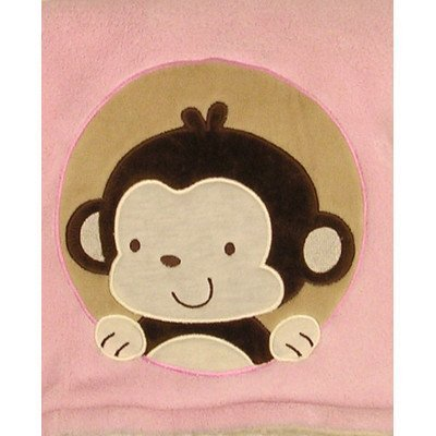 Baby Girl Pink Fleece Blanket by Bean Sprout