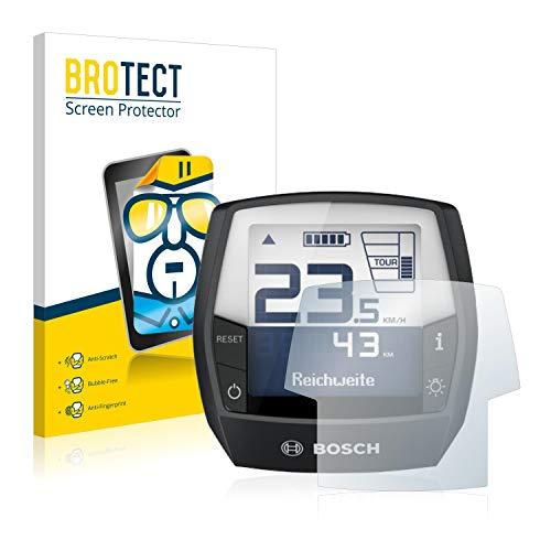 BROTECT Schutzfolie kompatibel mit Bosch Intuvia Performance Line (E-Bike Display) [2er Pack] - klarer Displayschutz