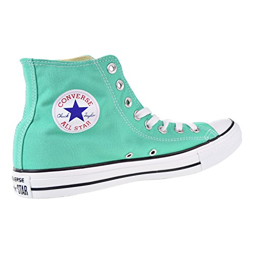 Converse Womens Chuck Taylor All Stars Seasonal Colour Hi Top Canvas Trainers Mint