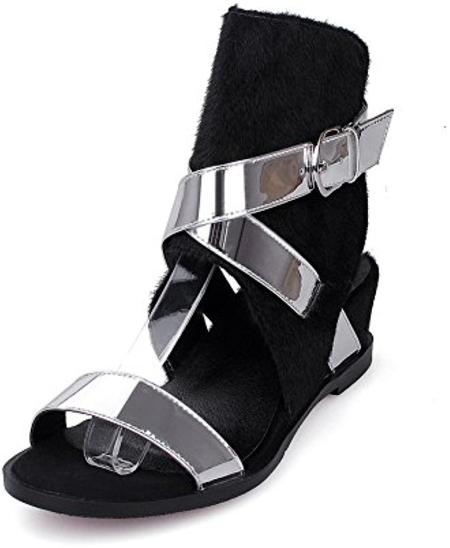 omnium des couleur allhqfashion kitten heels boucle des orteils couleur des sandales b01hgn42gq parent 586e2c
