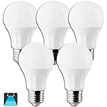 Aigostar - Bombilla LED E27 12W equivalente a 100 W, 1020 lúmenes, no regulable - 5 unidades
