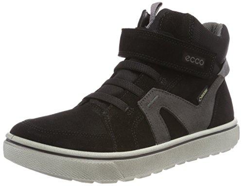 ECCO Jungen GLYDER Hohe Sneaker, Schwarz (Black 59458), 37 EU
