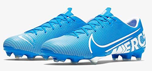Nike Unisex-Erwachsene Vapor 13 Academy Fg/Mg Fußballschuhe, Mehrfarbig (Blue Hero/White/Obsidian 414), 43 EU