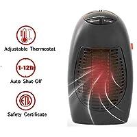 KOBWA Mini Calefactor Electrico de 400 W,Mini Ventilador de Calefacción Eléctrica Portatil Handy Heater para Oficina/Casa/Garaje