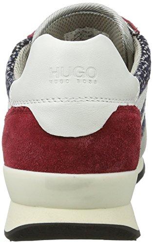 Hugo Adreny-Pl 10191482 01, Scarpe da Ginnastica Basse Donna Rosso (Dark Red)