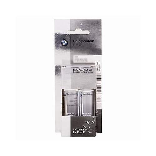 Original BMW Lackstift-Set Zweischicht Black Sapphire met. - 475