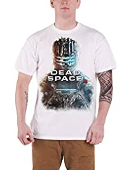 Dead Space 3 - Close Up Homme T-Shirt - Blanc - Taille Medium