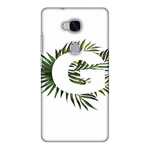 Hartschalen-Schutzhülle für Huawei Honor 5X, dünn, handgefertigt, mit tropischem Fern-G