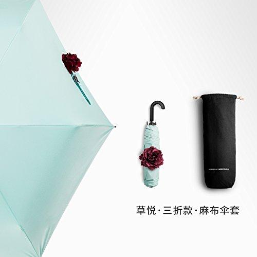 zjm-kleine-schwarze-regenschirm-sun-flower-ball-weiblichen-regenschirm-faltbare-regenschirme-die-gru