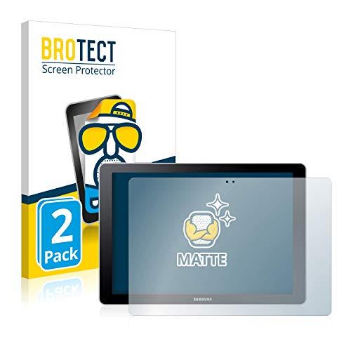 BROTECT Entspiegelungs-Schutzfolie kompatibel mit Samsung Galaxy Book 10.6 SM-W620 (2 Stück) - Anti-Reflex, Matt