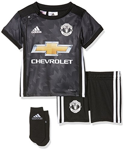 adidas Kinder Baby Manchester United Mini Kit, Black/White/Granit, 80 Preisvergleich