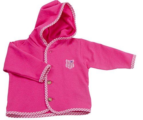 Isar-Trachten Baby Jacke Kinderjacke Mädchen und Jungen in pink Gr.62
