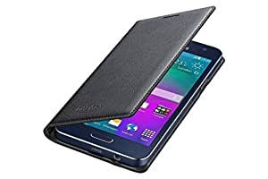 SmartLike Leather Flip Cover for Reliance Jio Lyf Wind 3 LYF LS-5502 BLACK