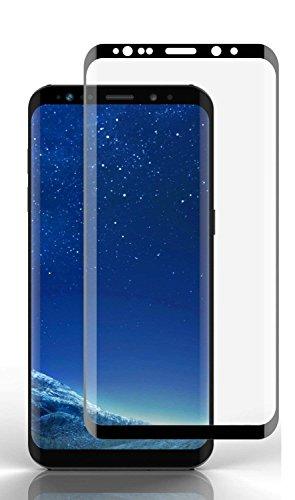 itronik 9H Hartglas Panzerglas für Samsung Galaxy S9 / Bildschirmschutzglas/Bildschirm Schutz Folie/Schutzglas / Echte Glas/Verb&englas / Glasfolie - schwarz