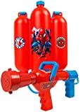 Sambro Spiderman Blaster Backpack, Gun for Kids-Water Shooter with Tank, Perfect Outdoor Summer