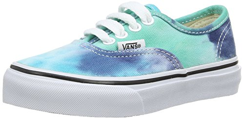Vans AUTHENTIC Low-Top Sneaker, Unisex Bambino Multicolore (Tie Dye) navy/ FPZ)