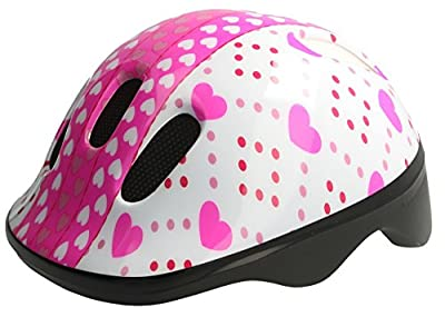 Meteor Baby Kids childrens Boys Cycle Safety Crash Helmet Small size (Sweety, 44-48 cm)