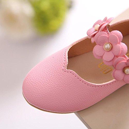 BZLine® Sommer Mädchen Sandalen Kleinkind Mädchen Prinzess Schuhe Flat Schuhe Pink