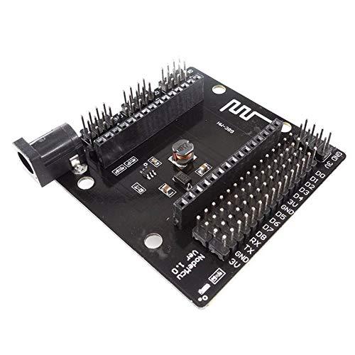 fggfgjg HW-389 WiFi Module NodeMCU Ver 1.0 WiFi Sensor Module Breadboard Basics Tester Black