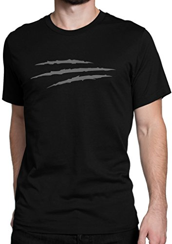 Kostüme Wolverine Uk (Wolverine / Messer / Schnitte / Größe XS-5XL / Ideales Geschenk / Premium T-Shirt (3XL,)